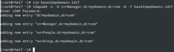 Add LDAP Domain Attributes and Values