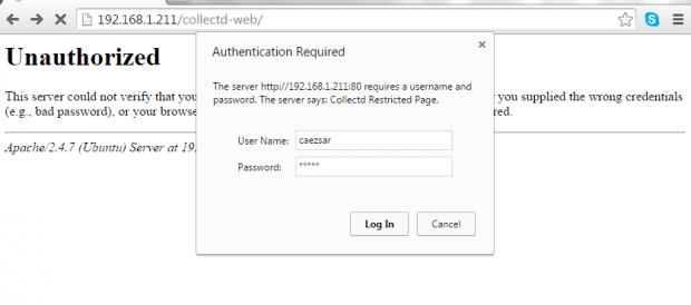 Apache Password Authentication