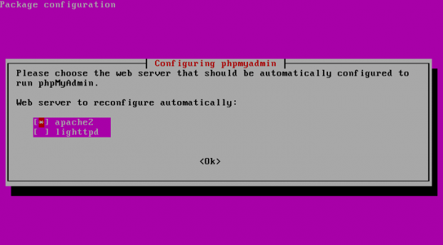Configure PhpMyAdmin for Apache