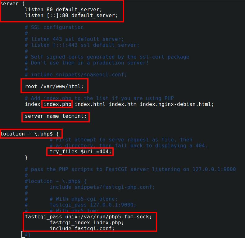 Configure Nginx Web Server
