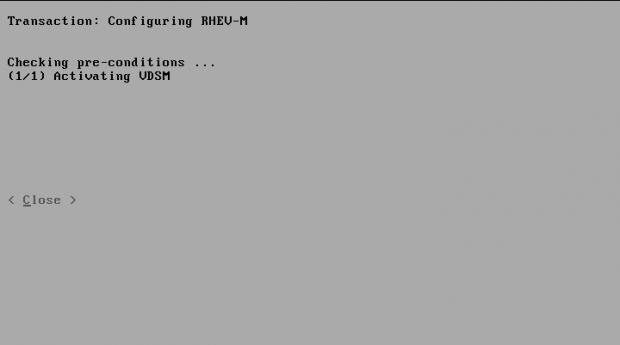 Configuring RHEV-M