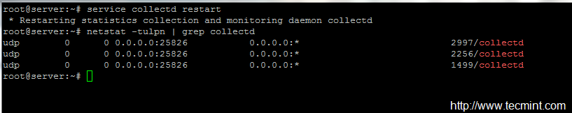 Configure Collectd as a Central Monitoring Server for Clients