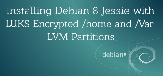 Debian Encrypted Partitions with LUKS