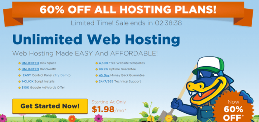Hostgator 60% Discount