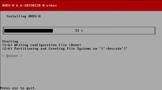 Hypervisor Installation