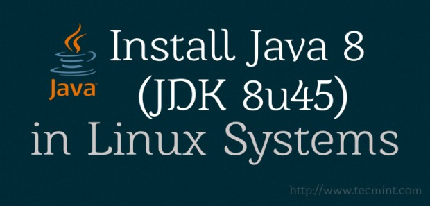 Install Java 8 in Linux