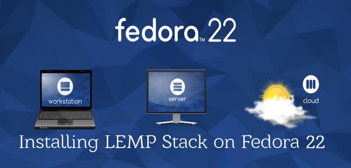 Install LEMP in Fedora 22