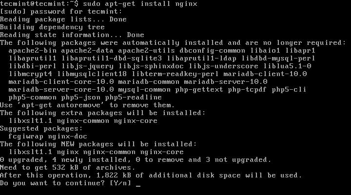 Instalar Nginx en Ubuntu 15.04