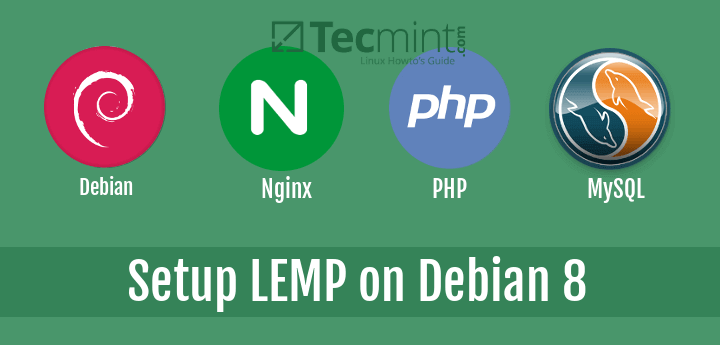 Install and Setup LEMP on Debian 8