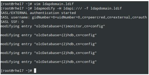 LDAP Domain Configuration