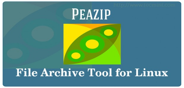 Peazip Linux File Archive Tool