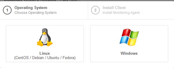 Select Server OS