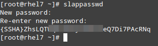 Set LDAP Admin Password