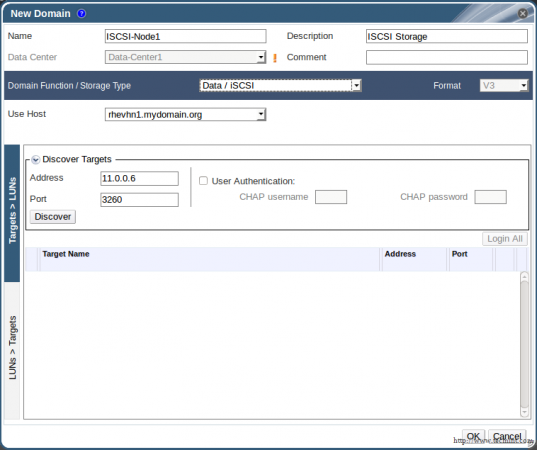 Add New Domain to Data Center