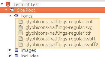 Bootstrap Fonts