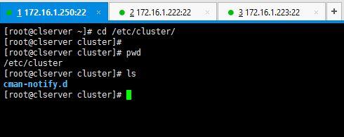 Check Cluster Configuration File