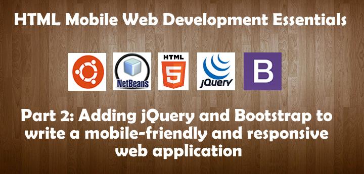 Write website for mobile