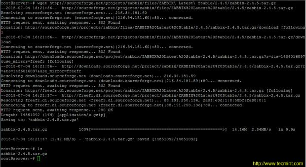 Download Zabbix Monitoring