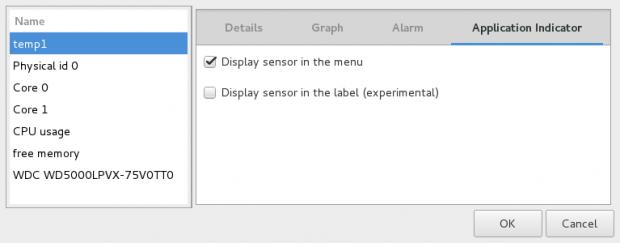 Enable Sensor Indicator