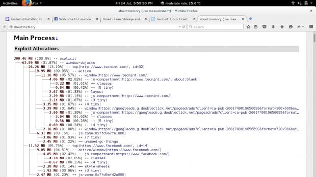 Firefox Main Process