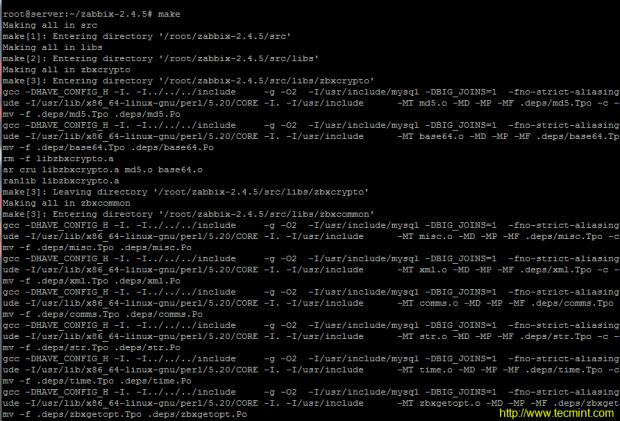Install Zabbix From Source