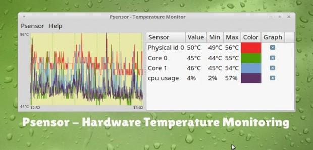 Linux Hardware Temperature Monitoring