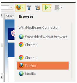 Open HTML5 Page in Firefox