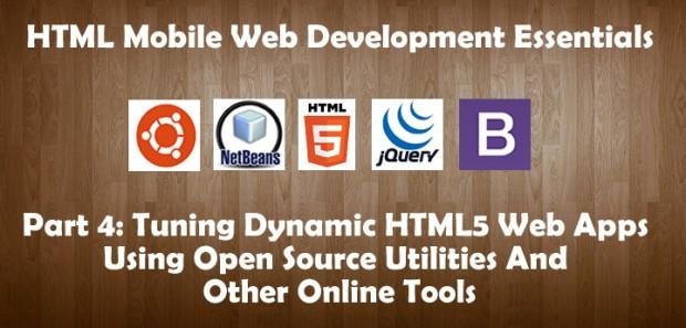 Tuning Dynamic HTML5 Web Apps