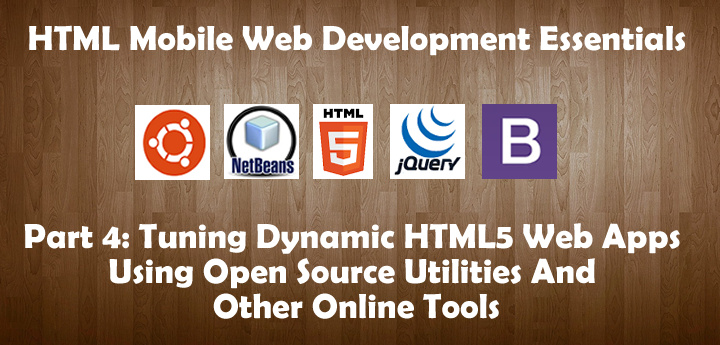Tuning Dynamic HTML5 Web Apps