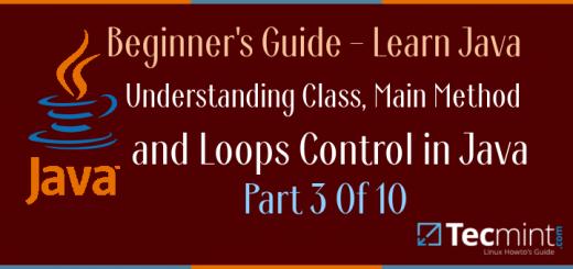 Understanding Java Class Method and Loops Control