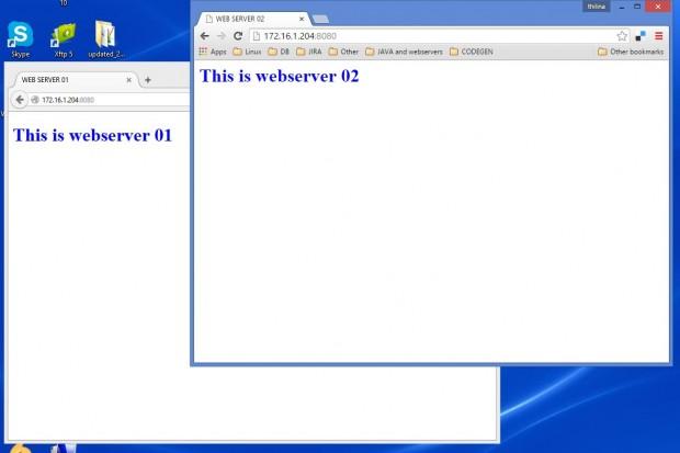 Verify Web Server Load Balancing