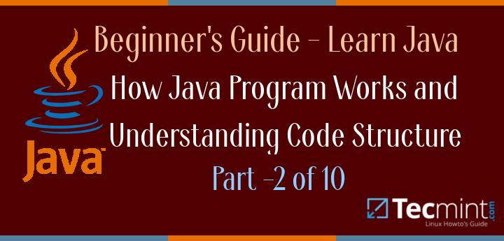 Working of Java Understanding Java Code