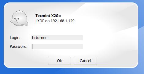 Remote Linux Desktop Login