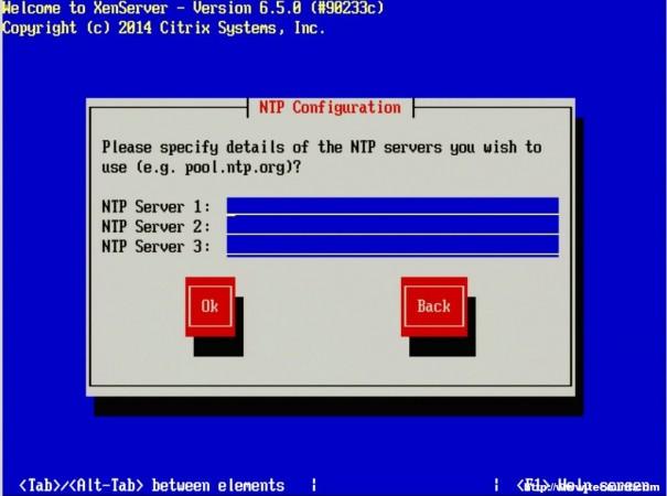 Add NTP Servers
