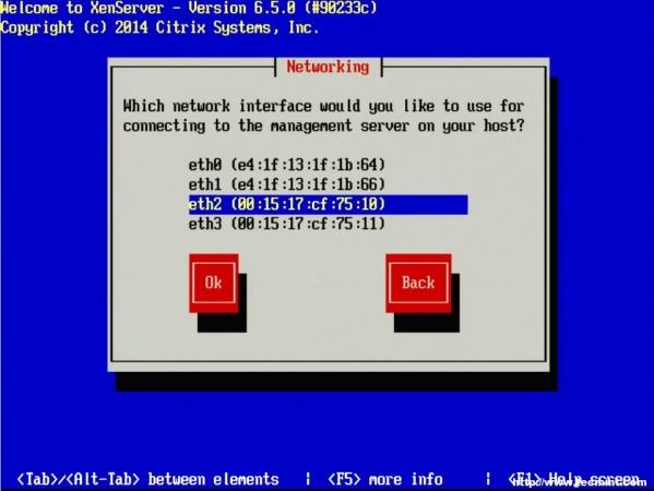 Configure XenServer Network