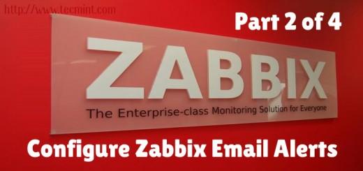 Configure Zabbix Mail Alerts