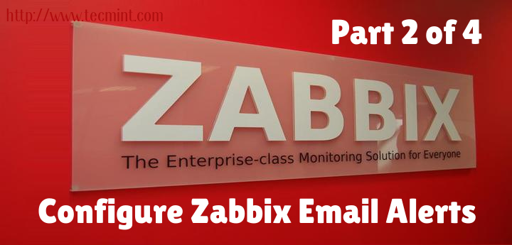 How to Configure 'Zabbix Monitoring' to Send Email Alerts to