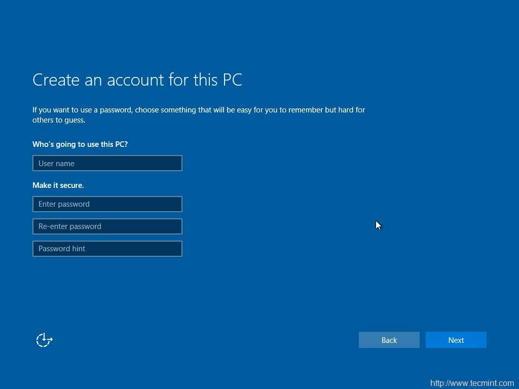 how to create account in linux