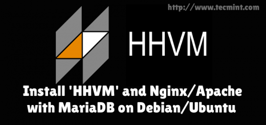 Install HHVM, Nginx and Apache with MariaDB