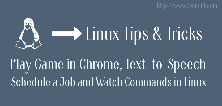 Linux Tips and Tricks Series