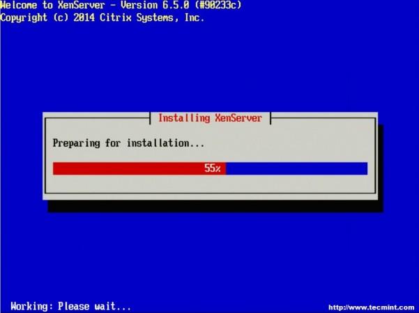 Preparing XenServer Installation
