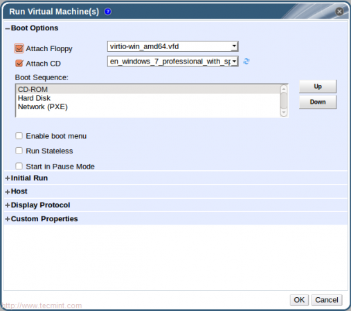 Run Windows Virtual Machine
