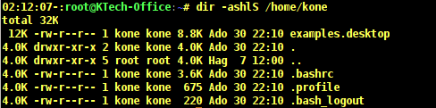 Sort Files with Sizes