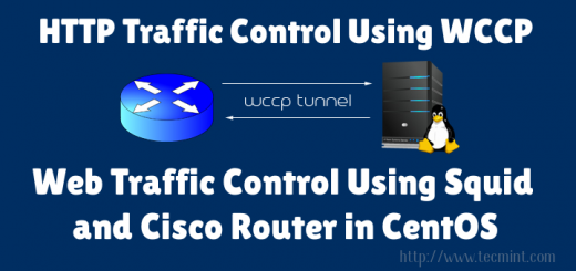 Traffic Control Using Squid and Cisco Router in CentOS