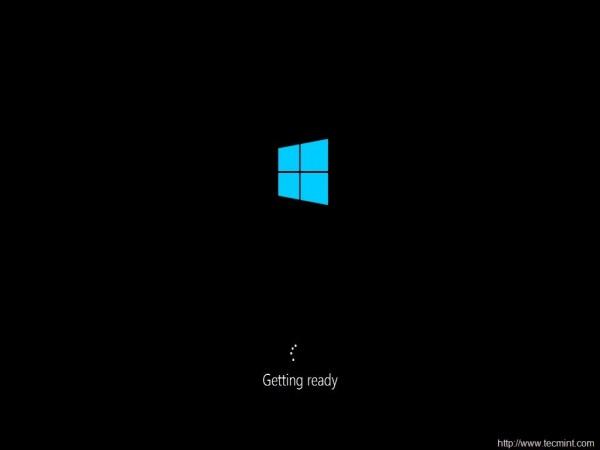 Windows Getting Ready