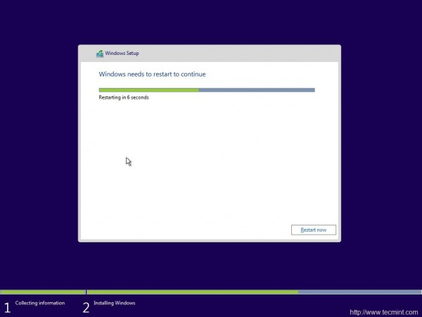Windows Installation Process
