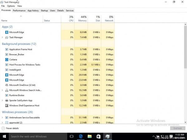 Windows Performance