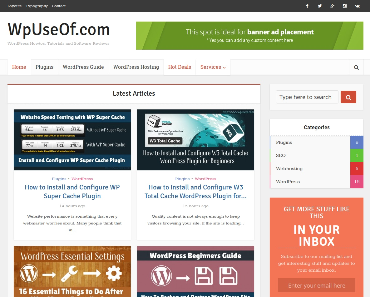 WpUseOf - WordPress Howtos, Tutorials and Software Reviews