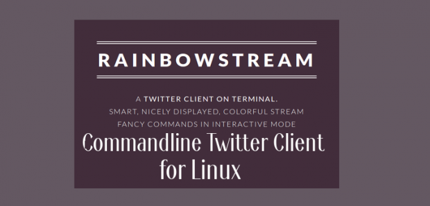 Command Line Twitter Client for Linux