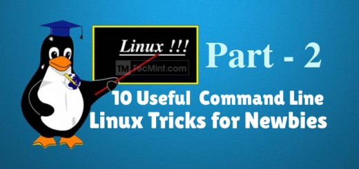 10 Linux Commandline Tricks for Newbies